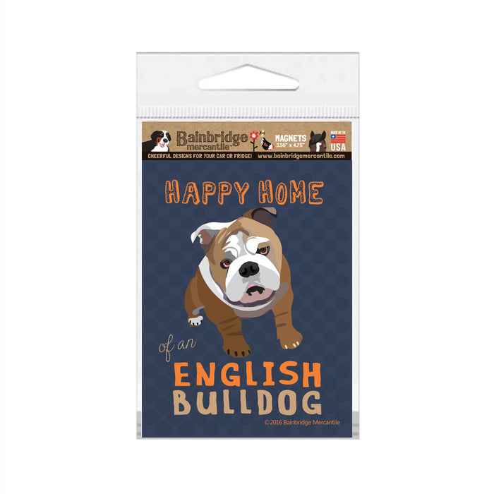 "English Bulldog Magnet - 3.56"" x 4.75"""