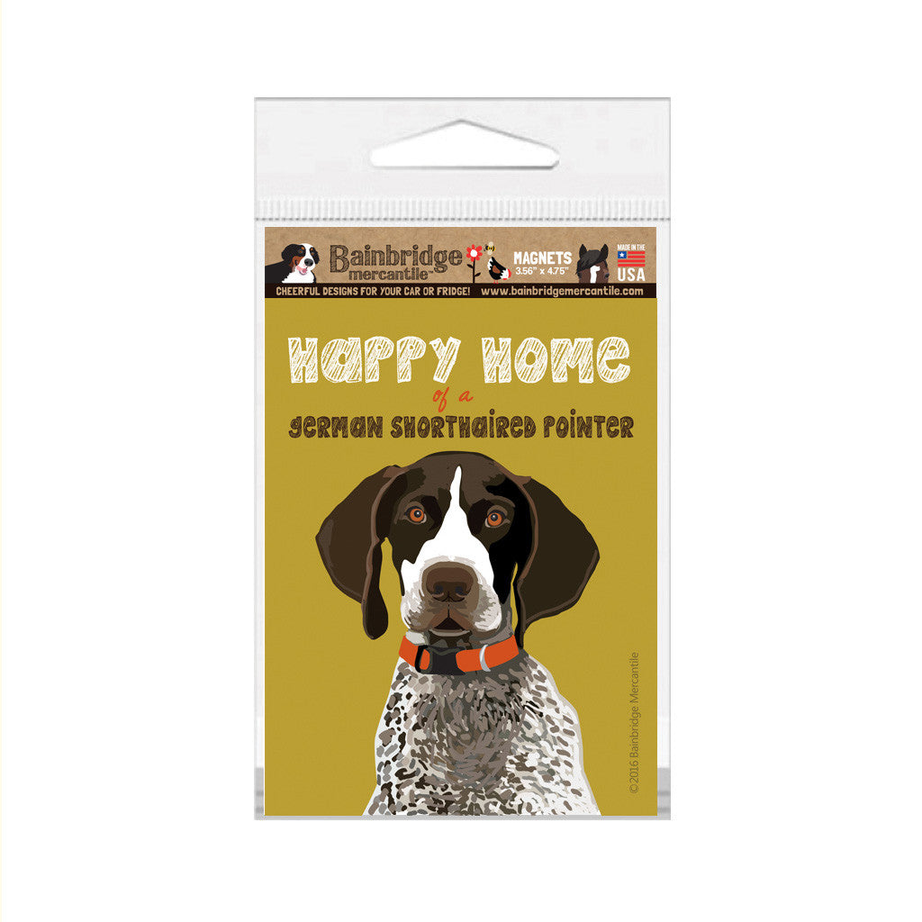 "German Shorthair Pointer Magnet - 3.56"" x 4.75"""