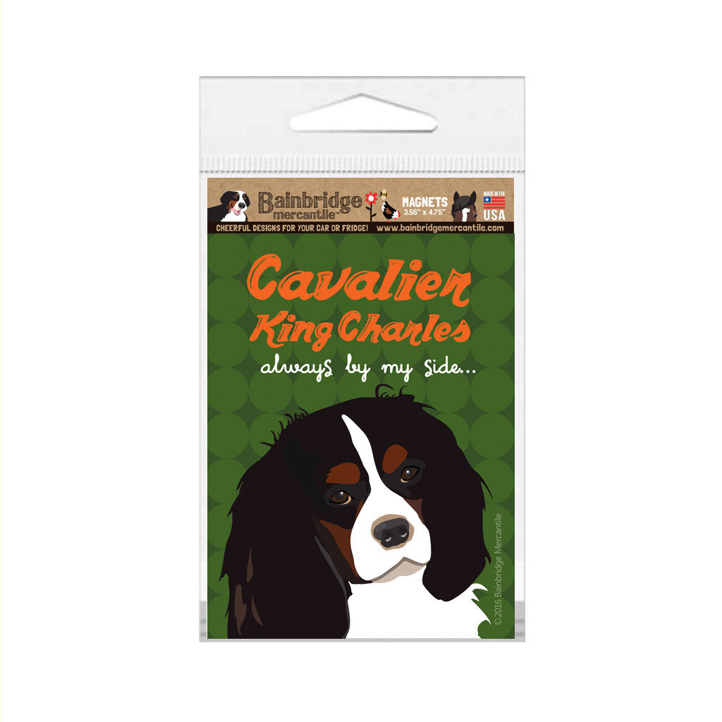 "Cavalier King Charles - Always By My Side Magnet - 3.56"" x 4.75"""