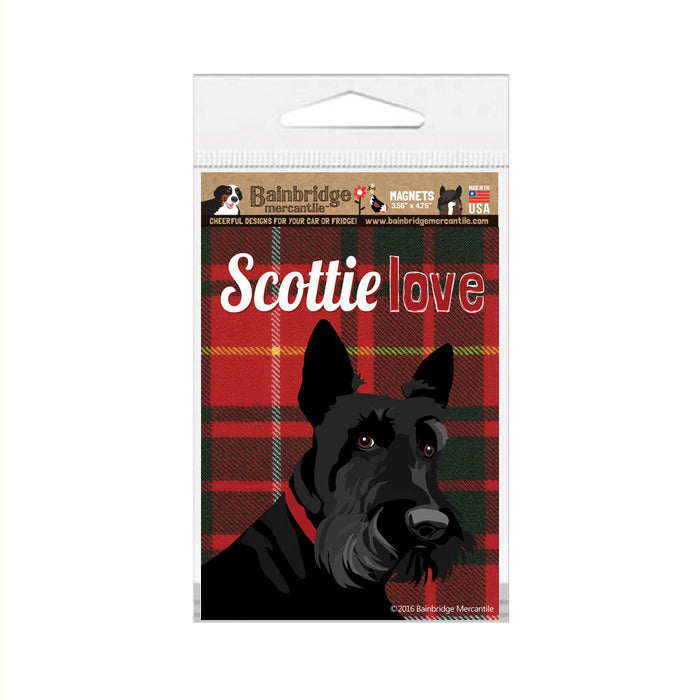 "Scottie Love Magnet -3.56"" x 4.75"""