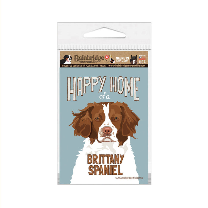 "Brittany Spaniel Magnet -3.56"" x 4.75"""