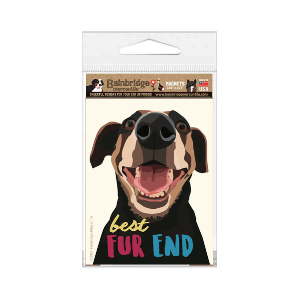 "Best Fur End Magnet 3.56"" x 4.75"""