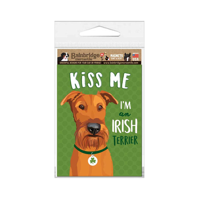 "Irish Terrier Magnet 3.56"" x 4.75"""