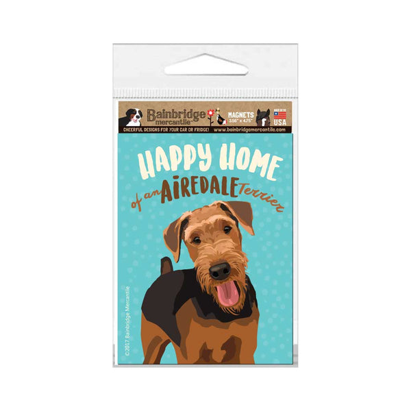 "Airedale Terrier Magnet 3.56"" x 4.75"""