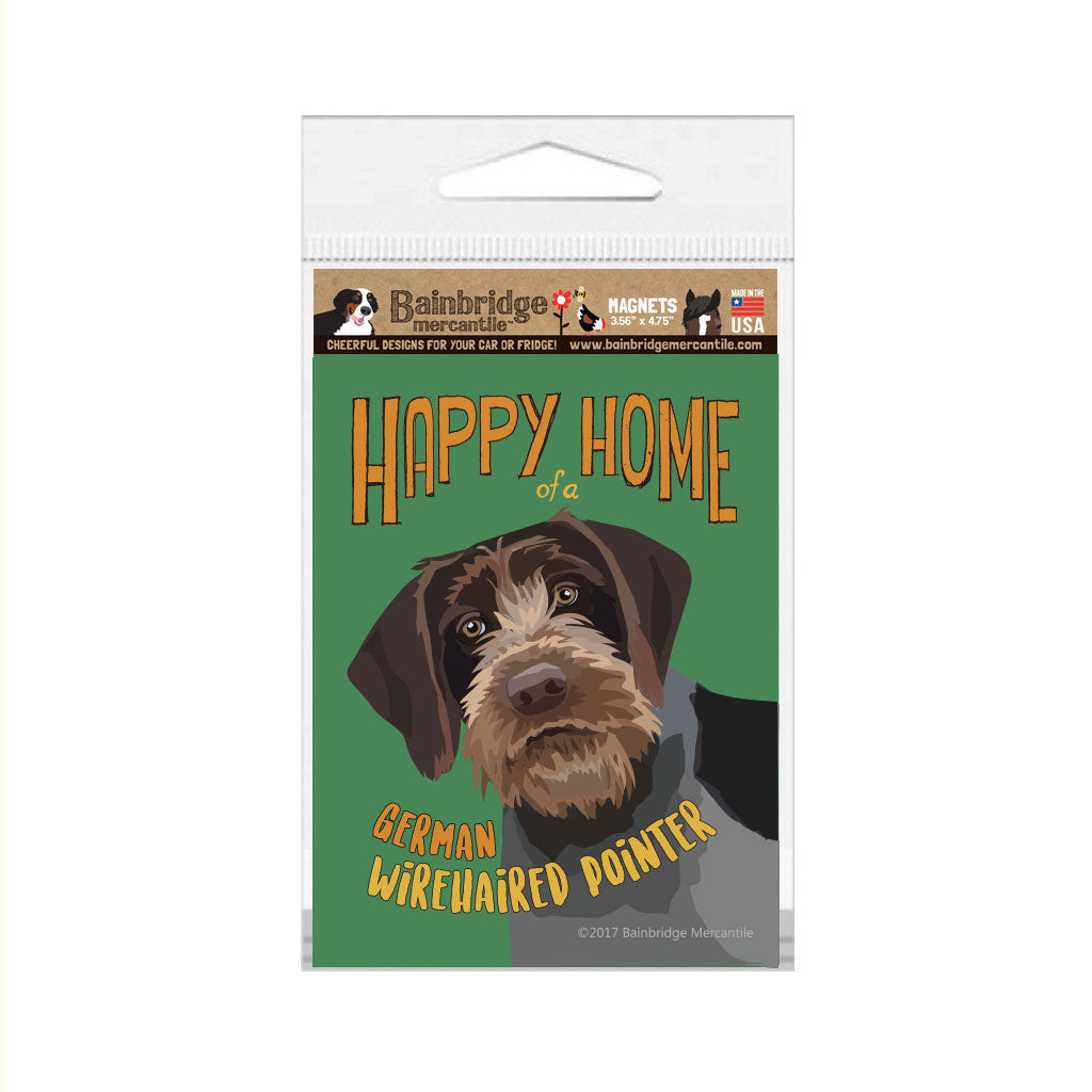 "German Wirehaired Pointer Magnet - 3.56"" x 4.75"""