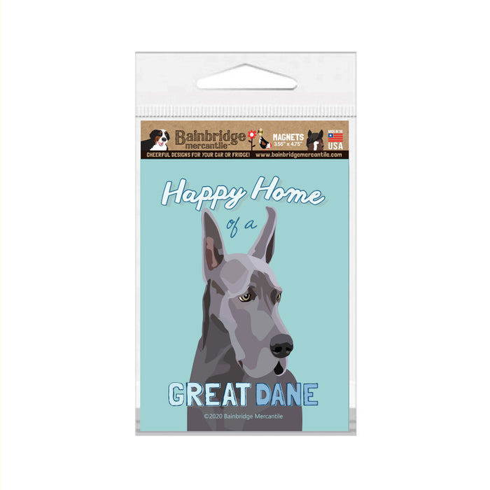"Great Dane Magnet 3.56"" x 4.75"""