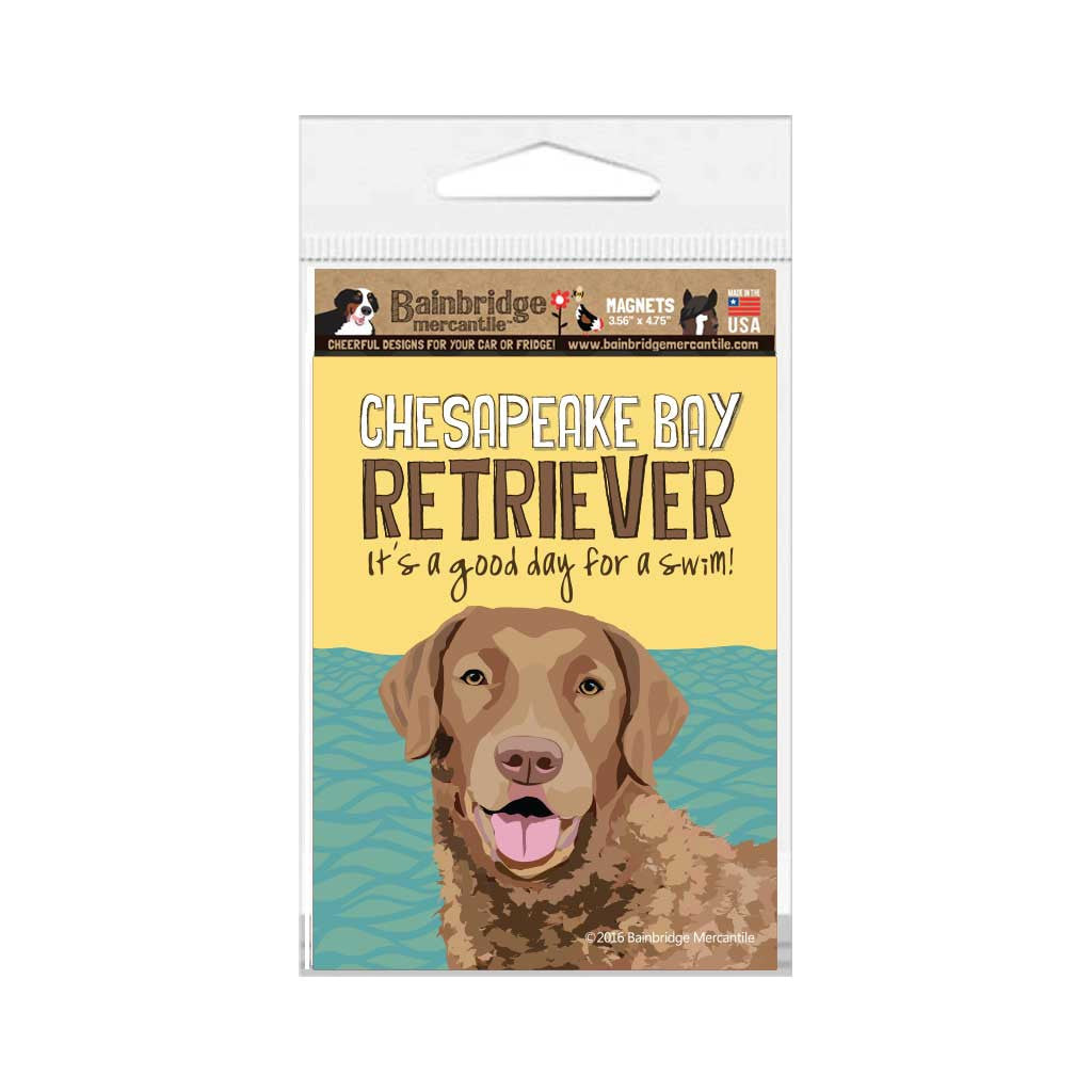 "Chesapeake Bay Retriever Magnet - 3.56"" x 4.75"""