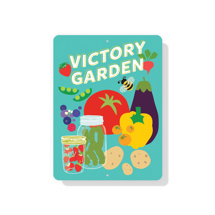 "Victory Garden sign 9"" x 12"""