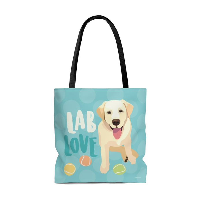 Lab (Yellow Dog) Tote Bag