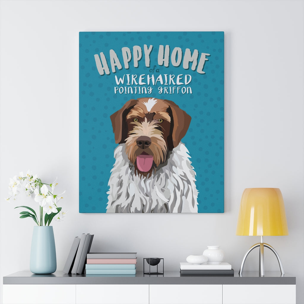 Wire-haired Pointing Griffon Canvas Gallery Wrap