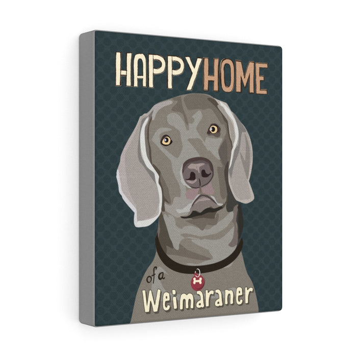 Weimaraner Canvas Gallery Wrap
