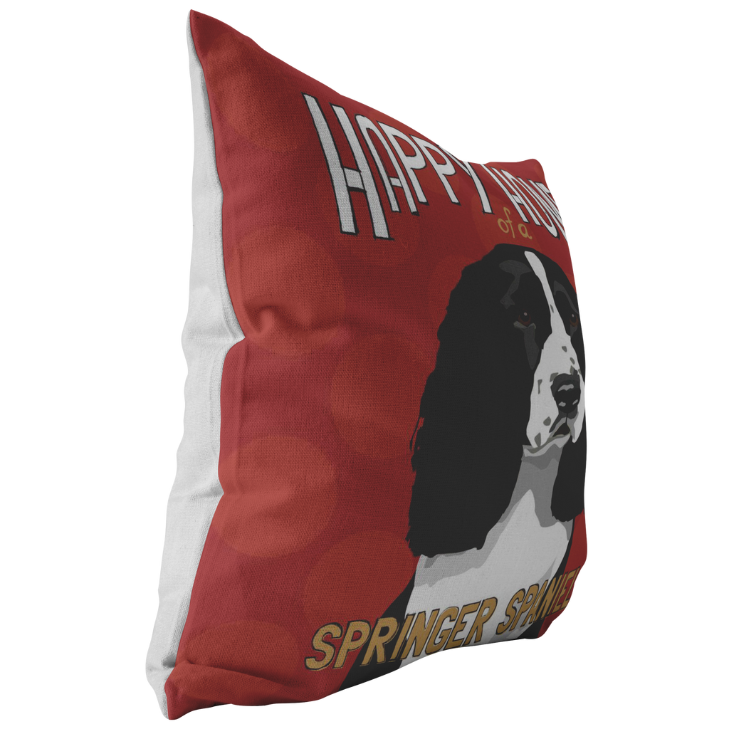 Springer Spaniel Pillow