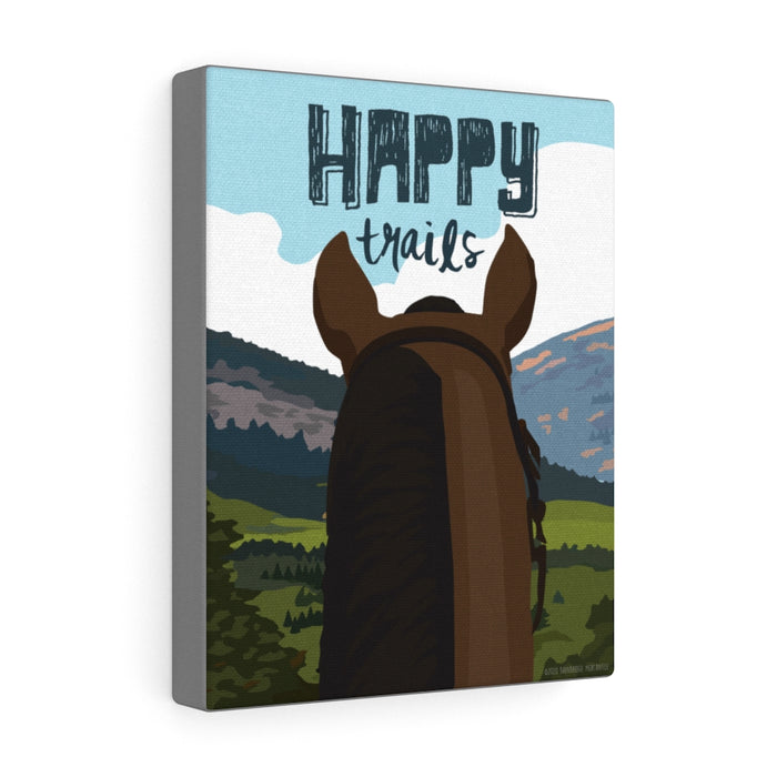Happy Trails - Canvas Gallery Wrap