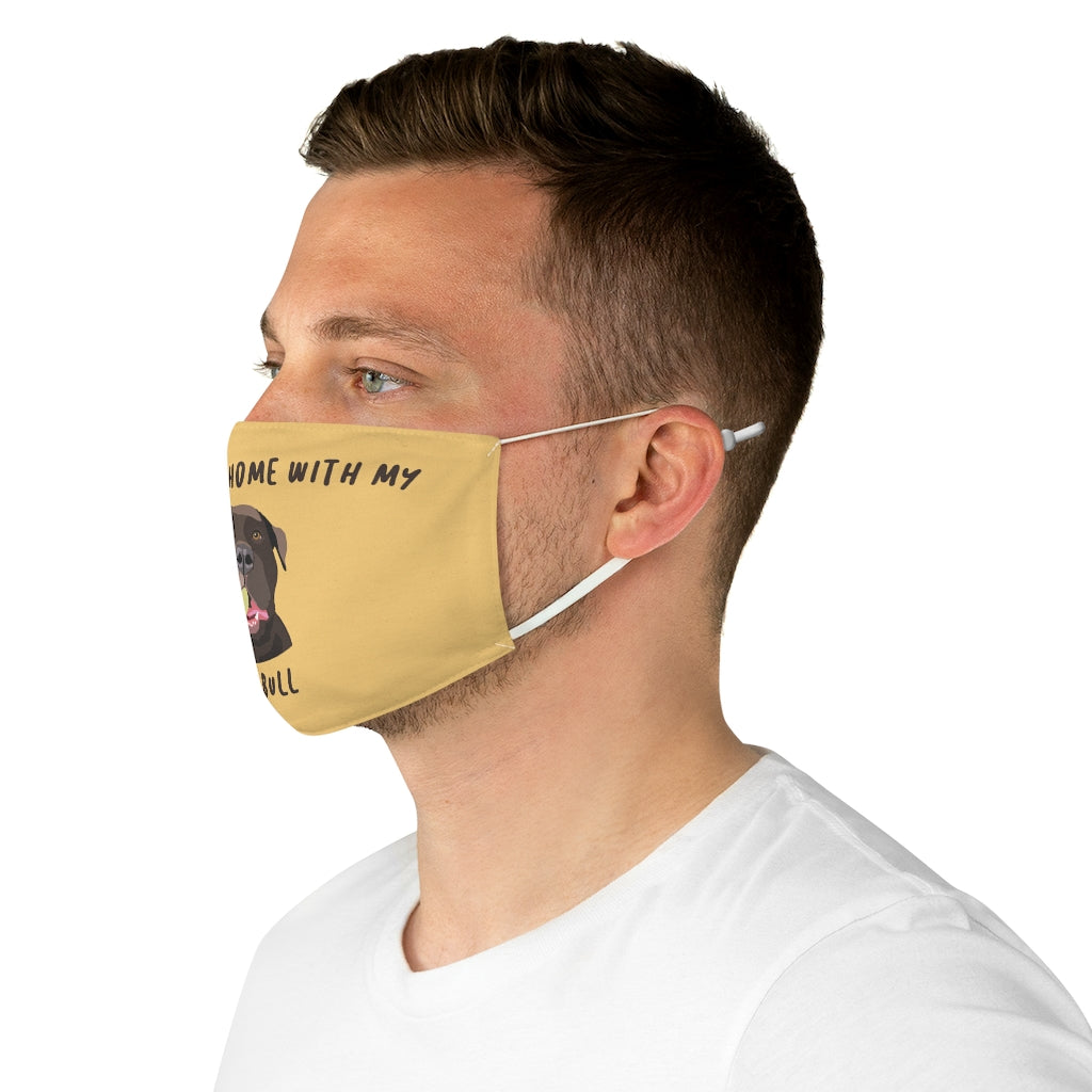 Pit Bull (brown) Face Mask