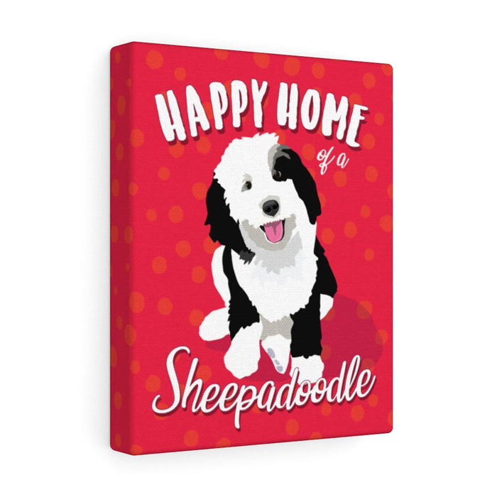 Sheepadoodle Canvas Gallery Wrap