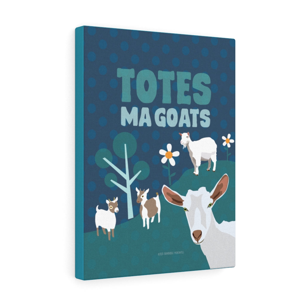 Totes Ma Goats Canvas Gallery Wrap