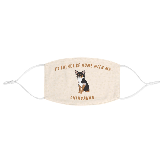 Chihuahua (Black & Tan) Face Mask