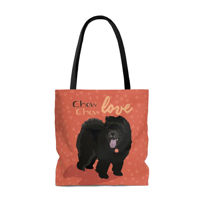 Chow Chow (Black Dog) Tote Bag