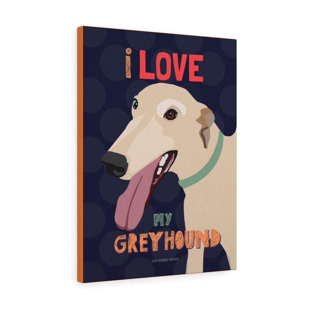 Greyhound Canvas Gallery Wrap