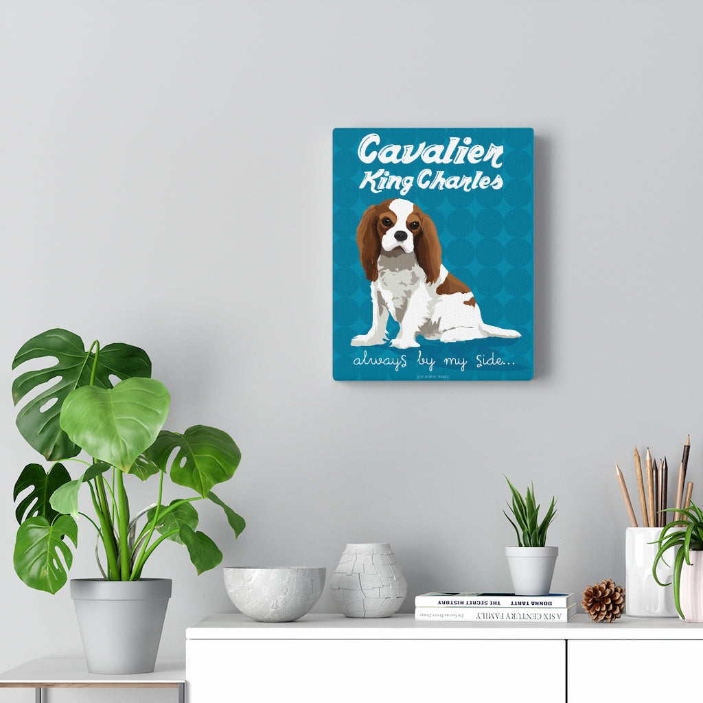 Cavalier King Charles (Bleinheim) Canvas Gallery Wrap
