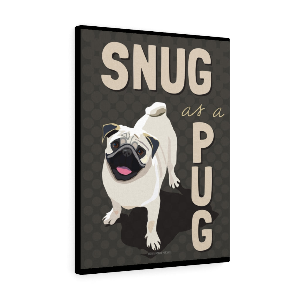 Pug Canvas Gallery Wrap