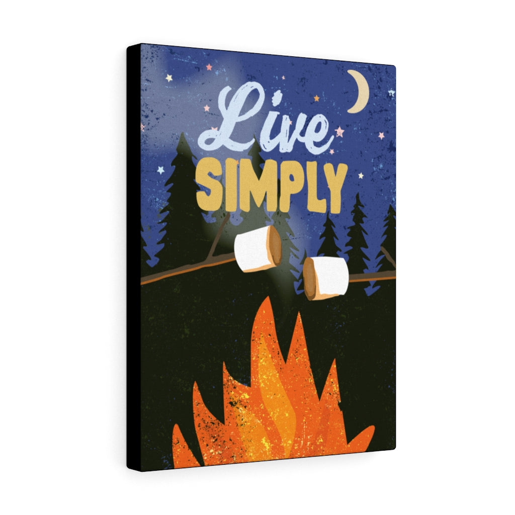 Live Simply Canvas Gallery Wrap
