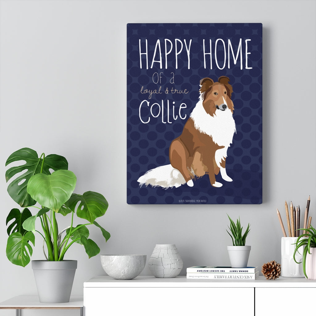 Collie - Canvas Gallery Wrap
