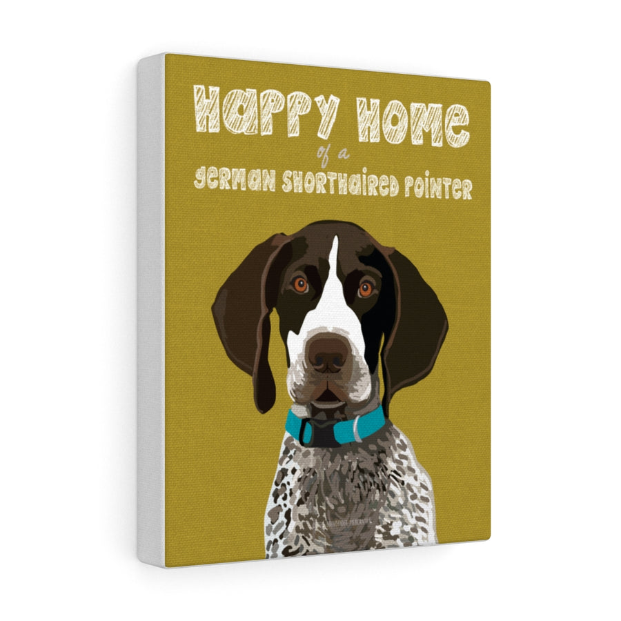 German Shorthaired Pointer Canvas Gallery Wrap