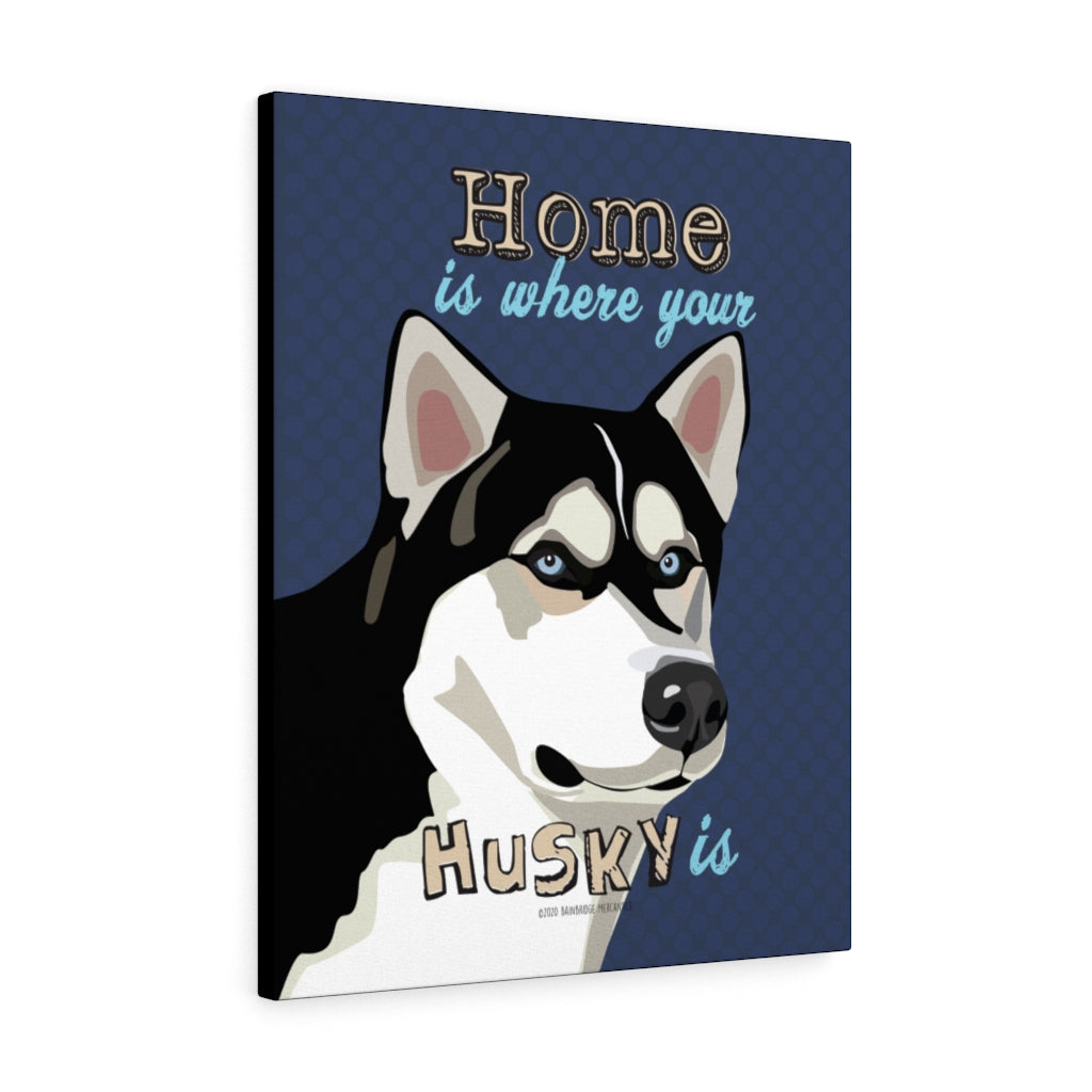Husky Canvas Gallery Wrap