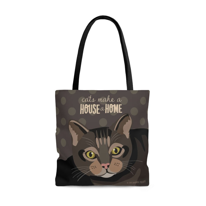 Cats Make A House a Home Tote Bag