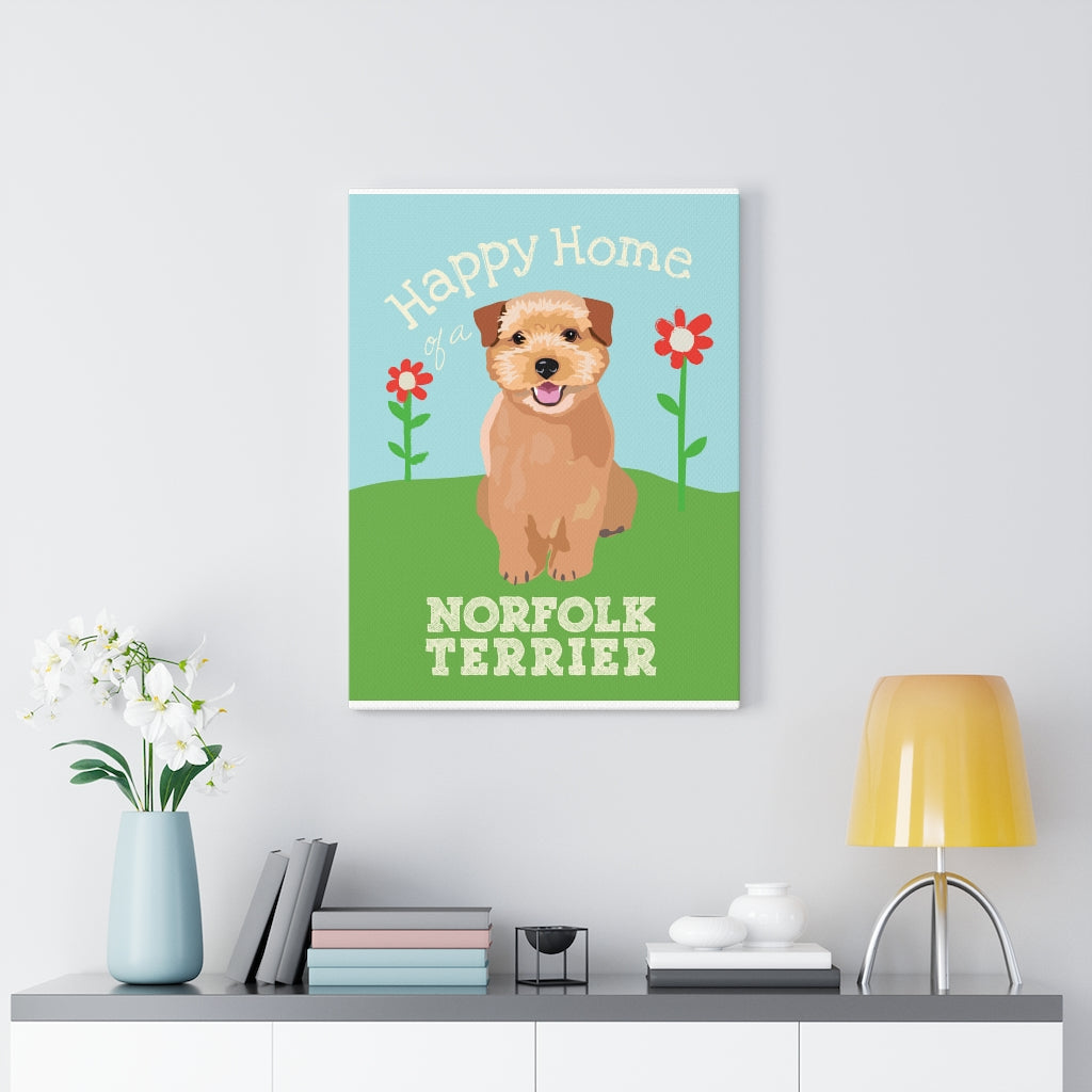 Norfolk Terrier Canvas Gallery Wrap