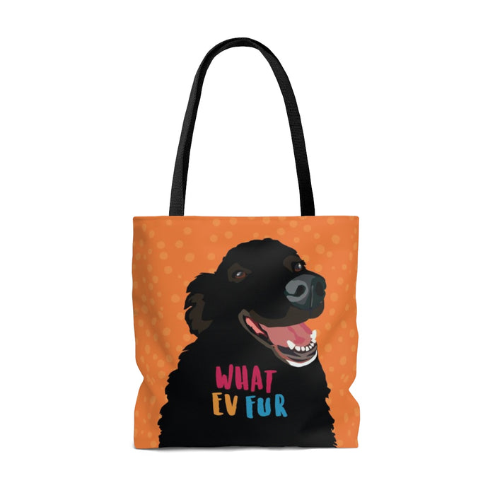 What Ev Fur Tote Bag