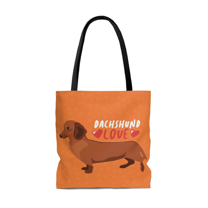 Dachshund (Red Dog) Tote Bag