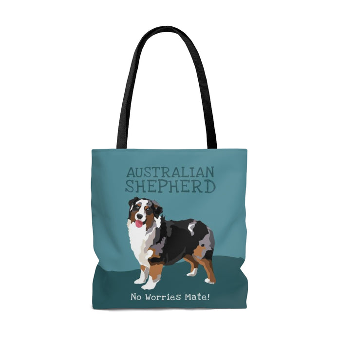 Australian Shepherd (Tri Color Dog) Tote Bag