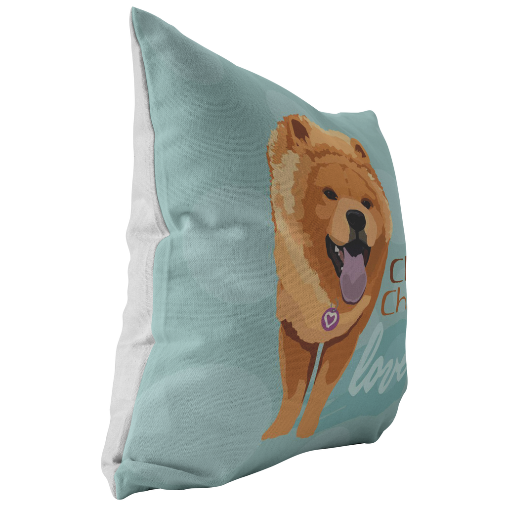 Chow Chow (Tan Dog) Pillow