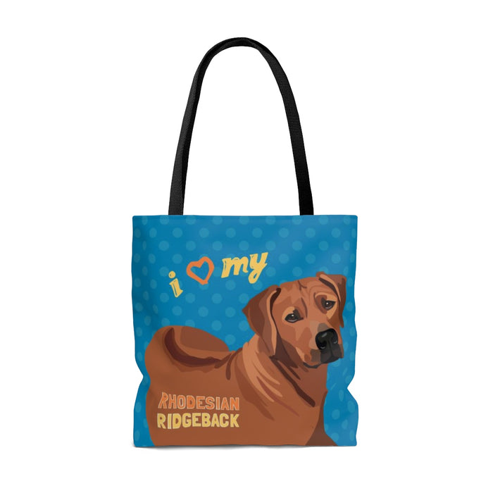 Rhodesian Ridge Back Tote Bag