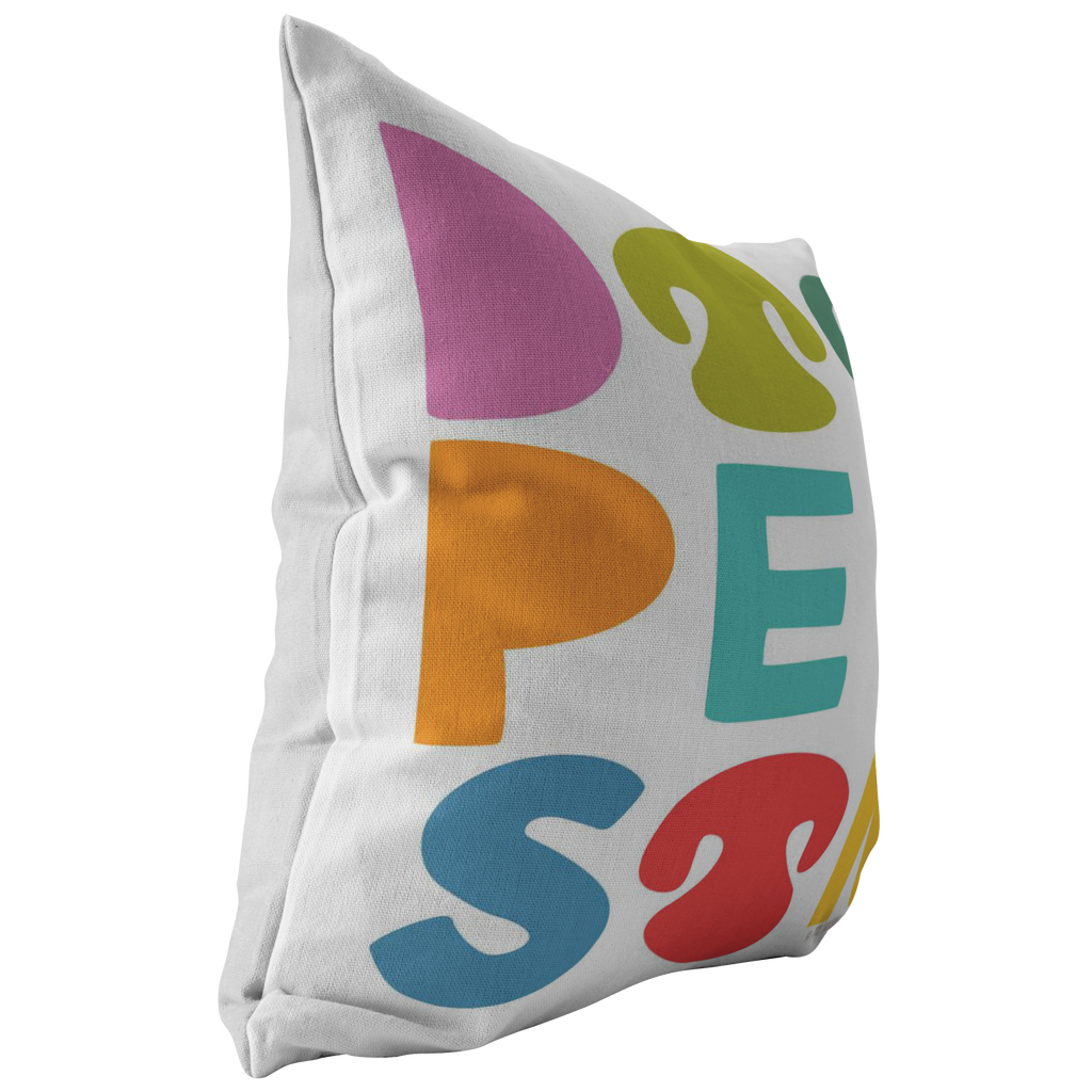 Dog Person Pillow - Color