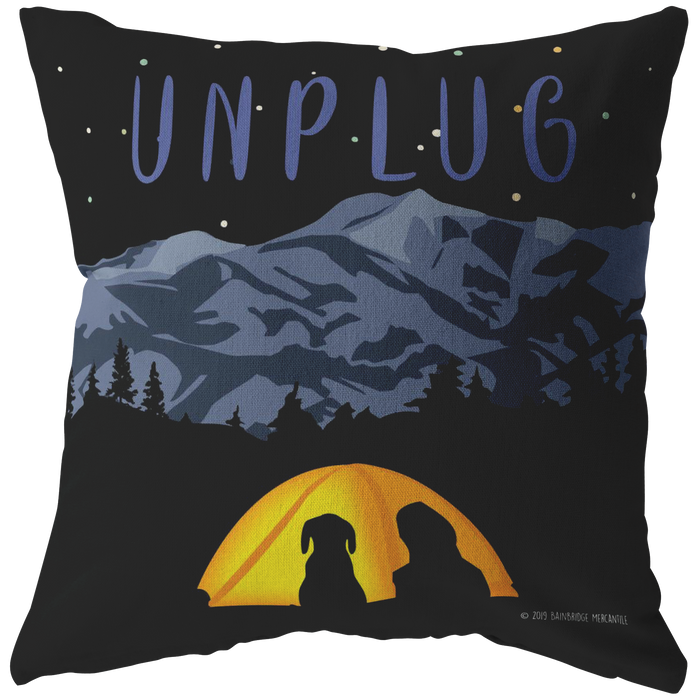 Unplug Pillow