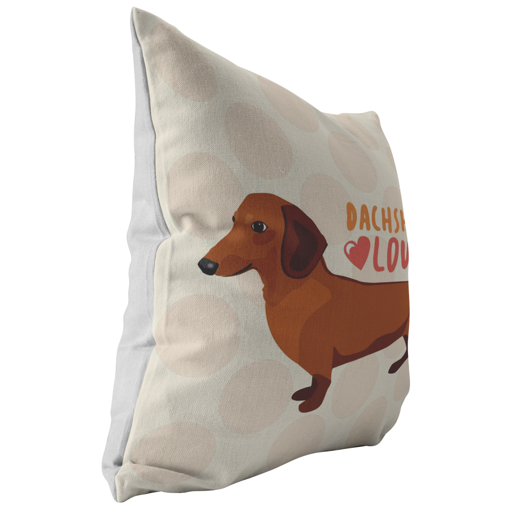 Dachshund (Red Dog) Pillow