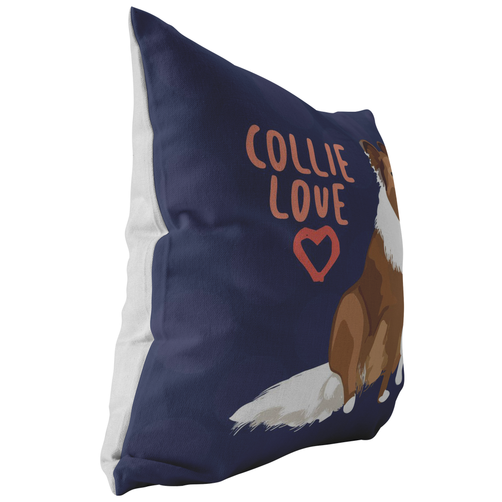 Collie Pillow