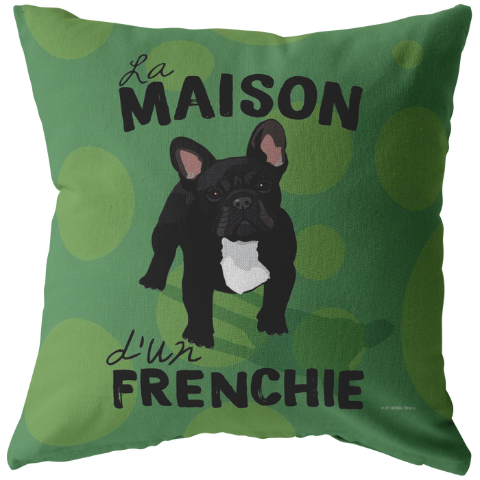 French Bulldog (Black Dog) Pillow