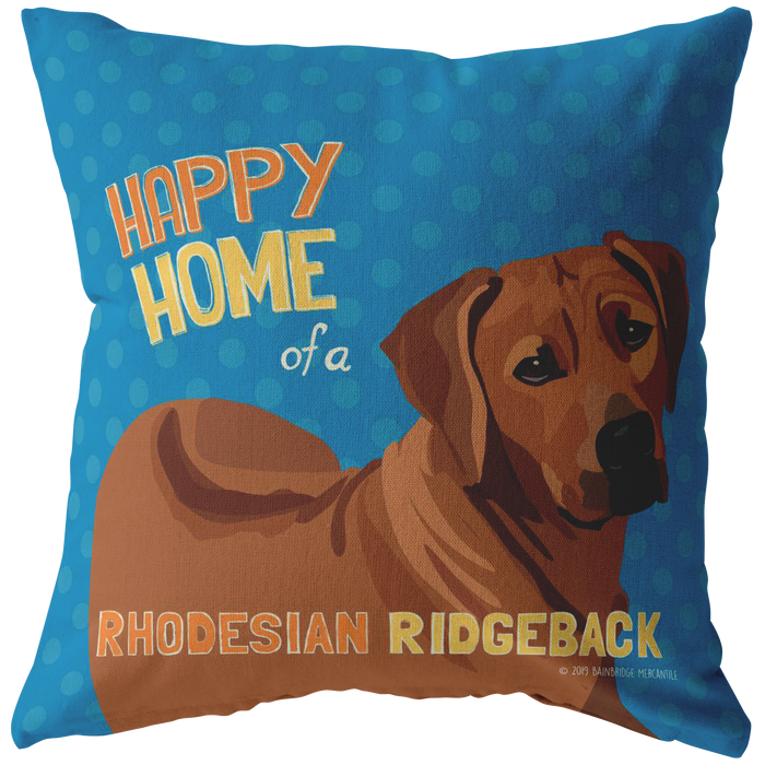 Rhodesian Ridge Back Pillow