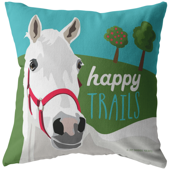Happy Trails Pillow