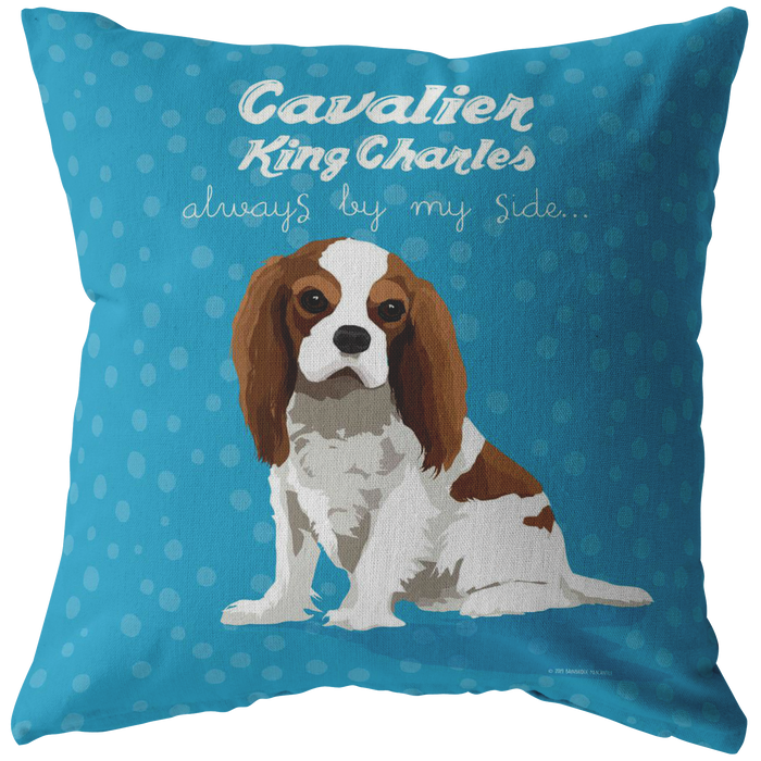 Cavalier King Charles (Bleinhem Dog) Pillow