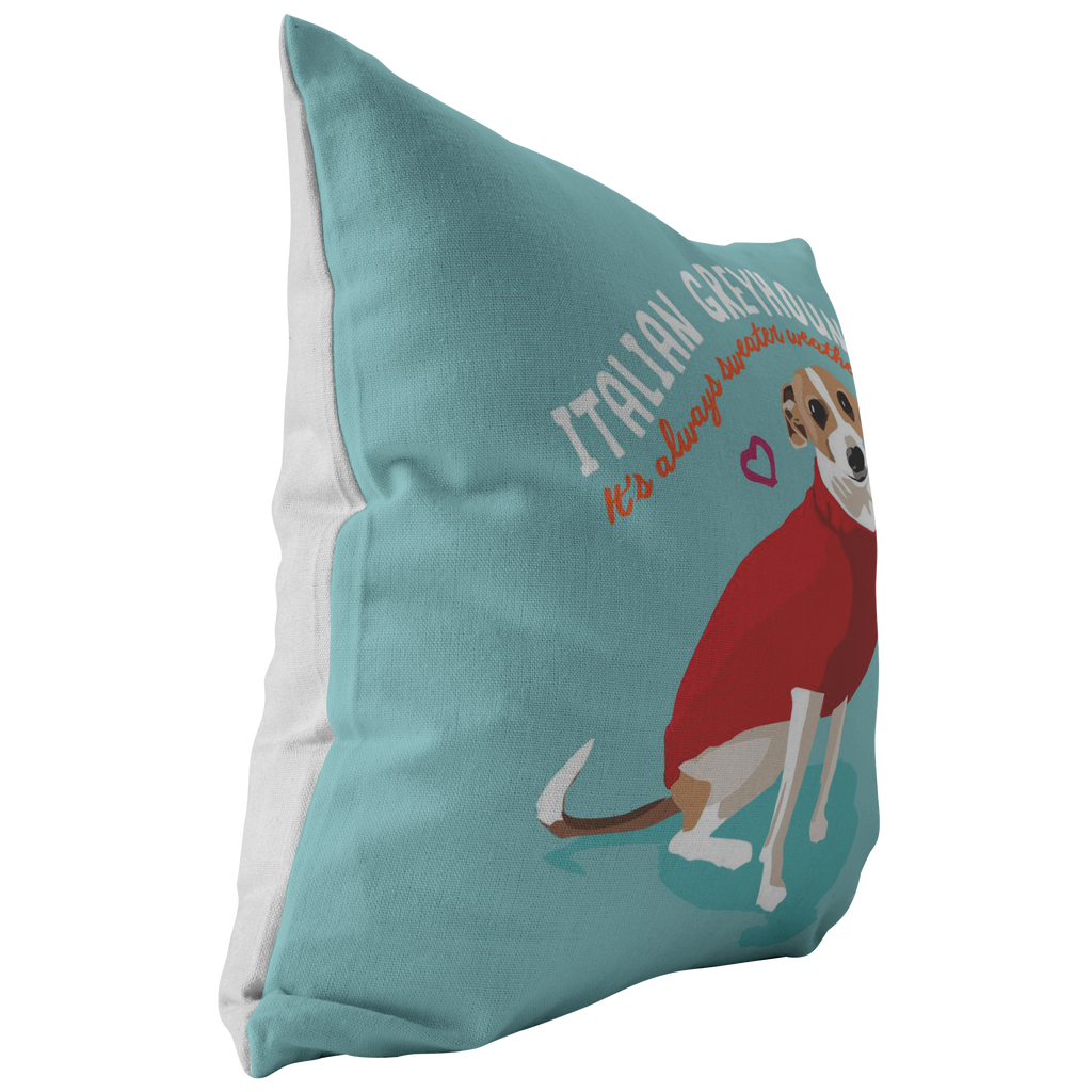 Italian Greyhound Pillow