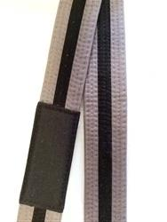BJJ Belt - Gray/Black