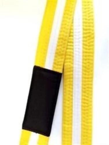 BJJ Belt - Yellow/White