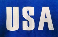 USA Patch - Blue/White