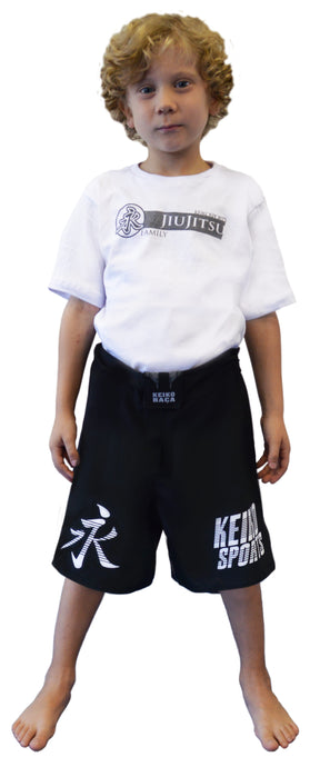 Kids Lutador 2.0 Fight Shorts - Black