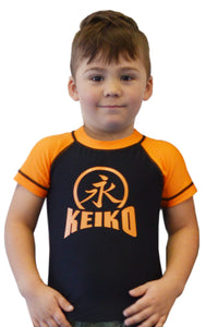 NEW Kids Comp Team Rash Guard - Orange